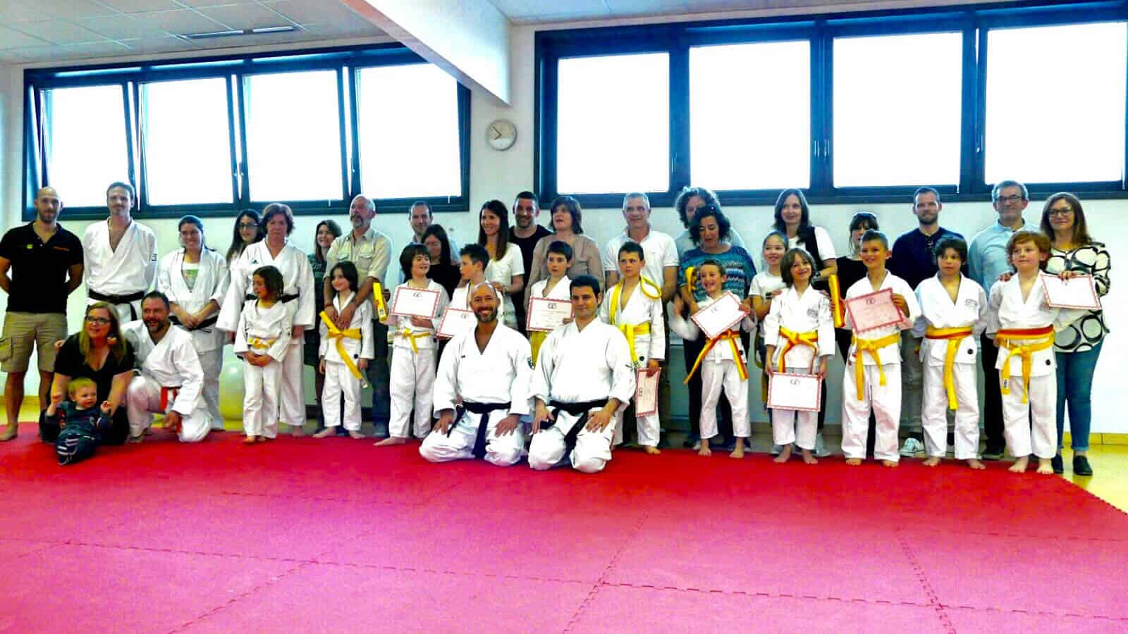 Karate Jitsu esami di graduazione di fine stagione 2016