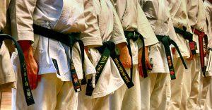 Stage Karate con cinture nere