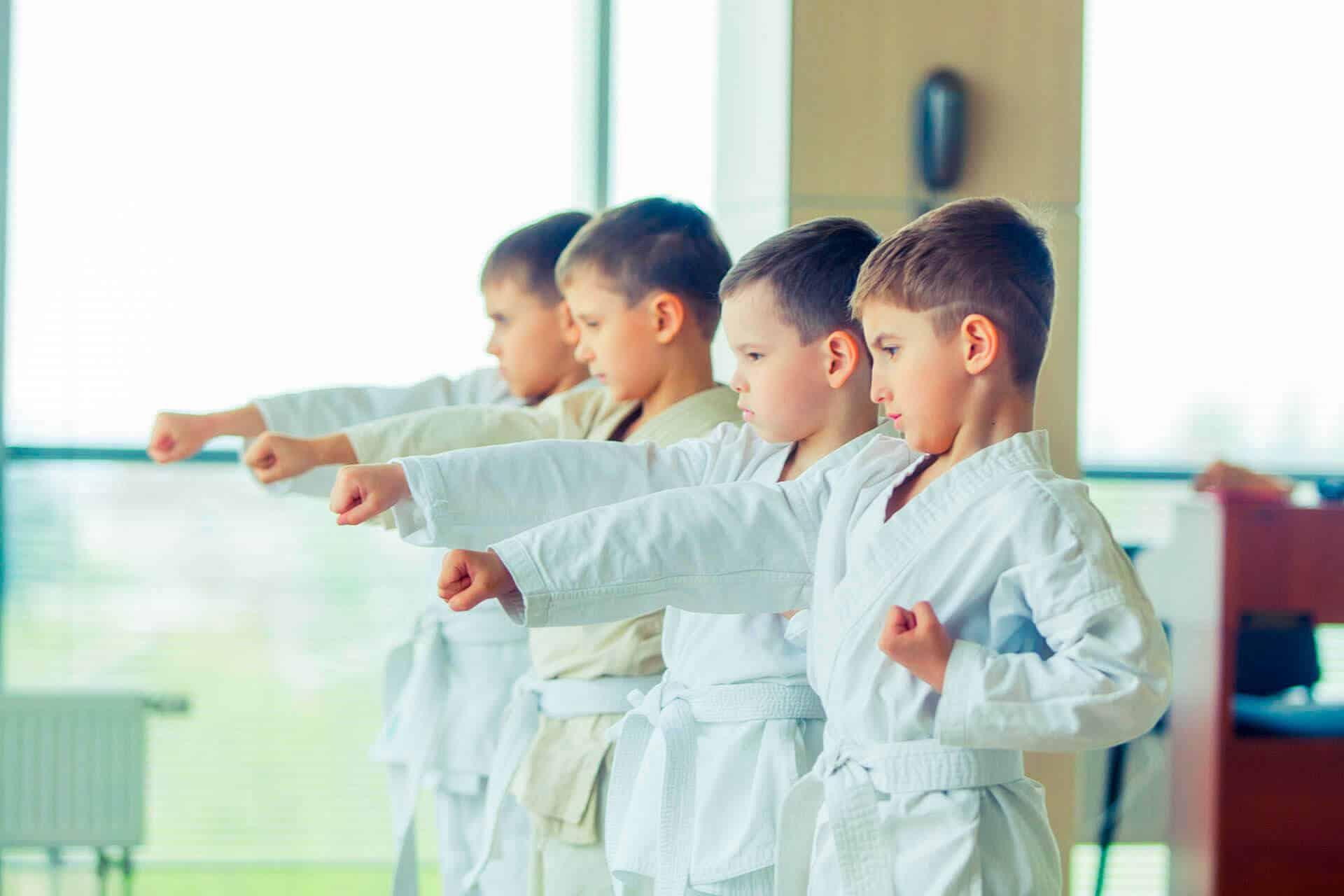 Ripartono i corsi di Baby Karate Jitsu
