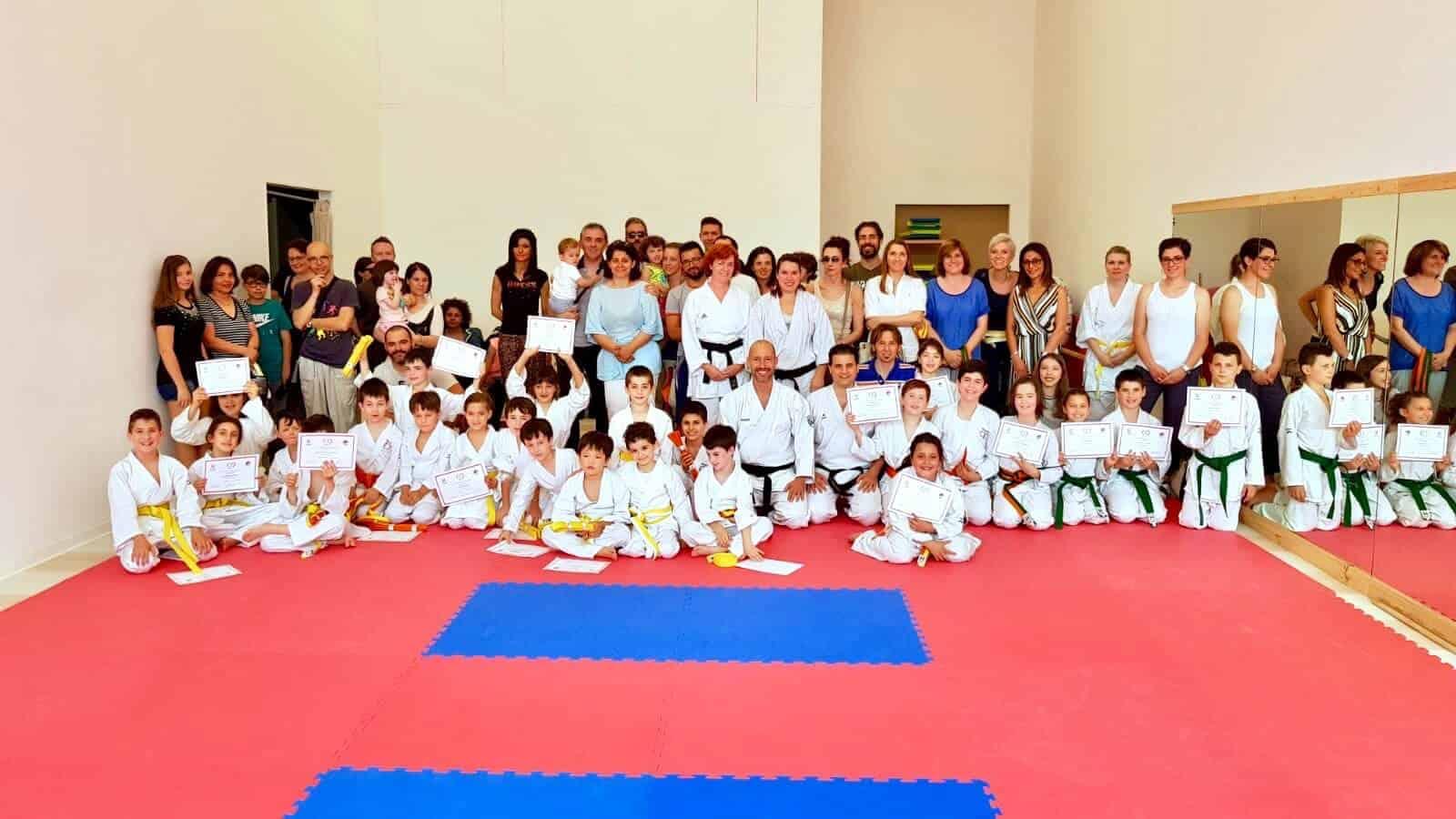 Karate Jitsu - Esami sessione estiva 2018 - Gruppo Sportivo Sambughè