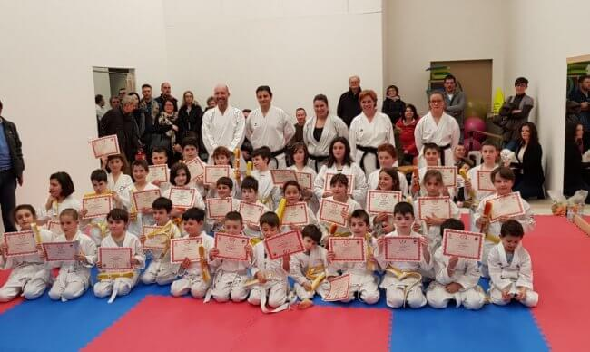 Karate Jitsu - Esami sessione invernale 2018 - Gruppo Sportivo Sambughè