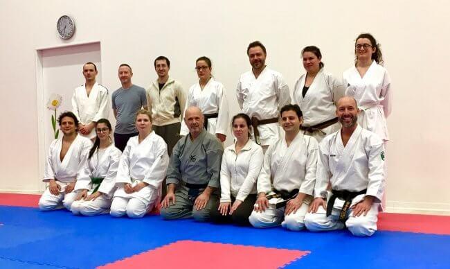 Karate Jitsu - Lezione di Aikido con il Maestro Giancarlo Giuriati