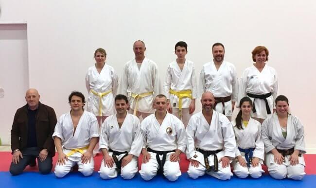 Karate Jitsu, lezione con il Maestro Braglia della Ahnan Tomari-te World Organization – Europe Branch
