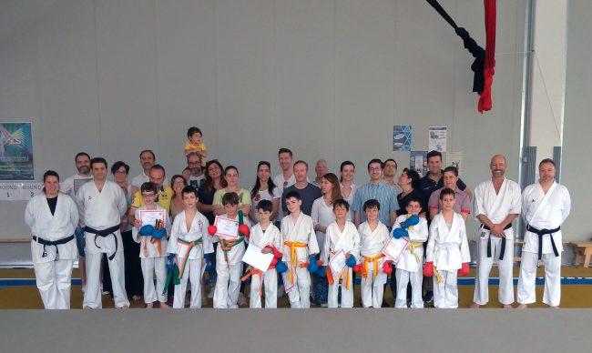 Domenica di esami per i bambini e regazzi del Karate Jitsu