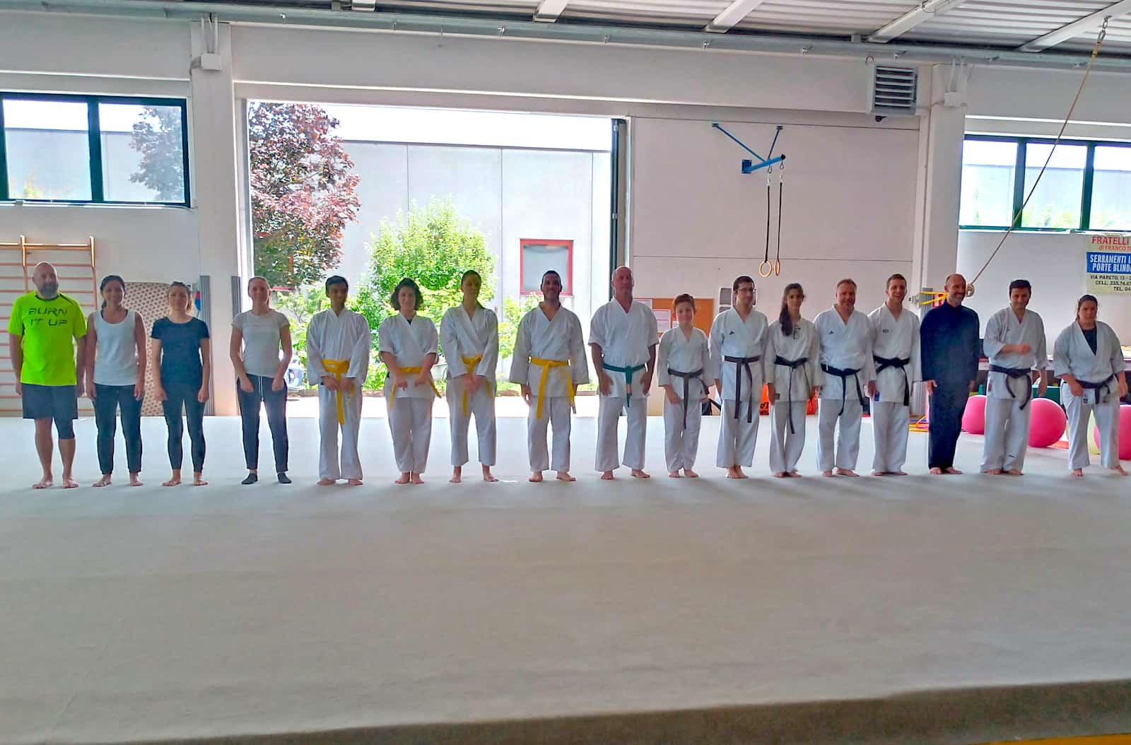 Esami per il Karate Jitsu Adulti e per la Fitness Defence